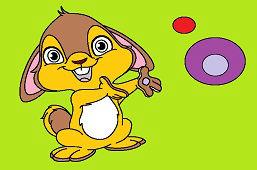 Veverička a bubliny