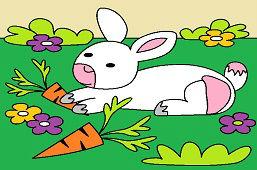 Zajko a mrkvičky