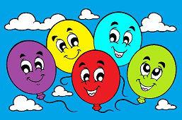 Veselé balóny