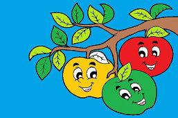Tri jabĺčka