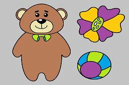 Medveď a kvietok