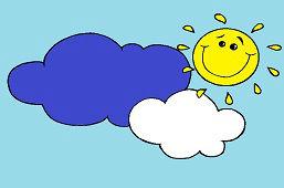 Slniečko v oblakoch