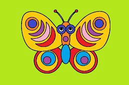 Motýľ Adam
