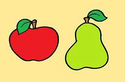 Jablko a hruška