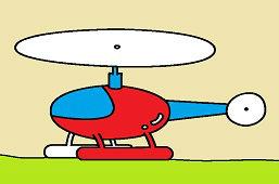 Detská helikoptéra