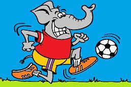 Slon – futbalista