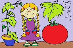 Dievčatko rajčinka