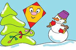 Šarkan a snehuliak