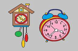 Budík a kukučkové hodiny