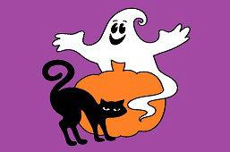 Čierna mačka a strašidlo