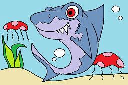 Žralok hravý