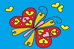 Srdiečkovy motýlik