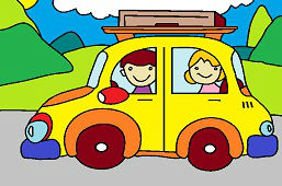 Výlet autom
