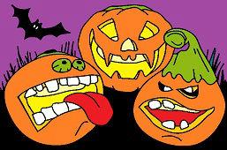 Tekvice Halloween