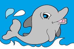 Mladý delfín