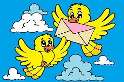 Poštoví vtáci