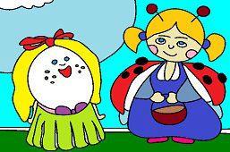 Medulienka a vajíčko