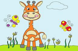 Žirafa na lúke