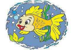 Rybka v mori