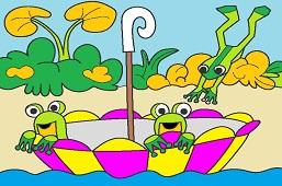 Žabky v dáždniku