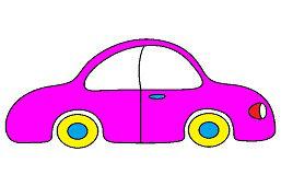 Jednoduché autíčko