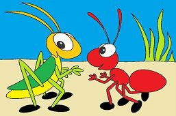 Mravenec a cvrček