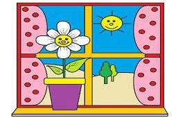 Okno v mojej izbičke