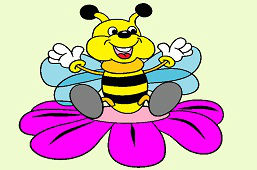 Veselá včielka
