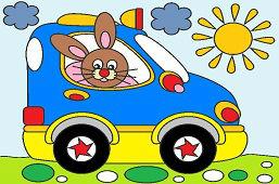 Zajko v novom aute