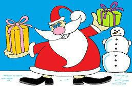 Dedo Mráz má darčeky
