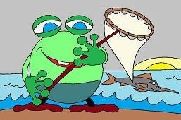 Žaba na rybačke