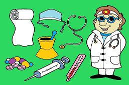 U lekára