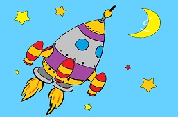 Raketou na Mesiac