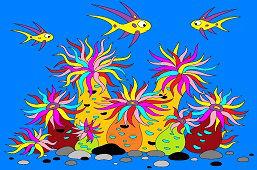 Rybky v mori