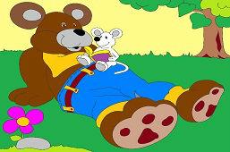 Medveď a myška