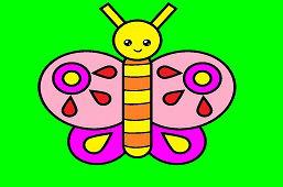 Vystrihni si motýľa