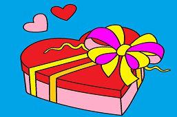 Valentínske srdce čokolády