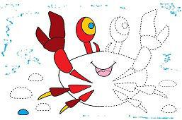 Krab červený