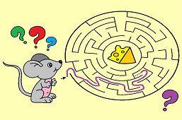 Myška a kúsok syra