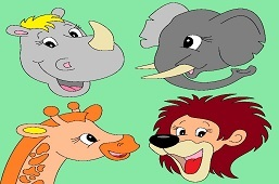 Zvieratká z Afriky