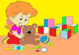 Dievčatko s hračkami