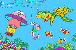 Červík a kamaráti z mora