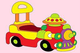 Dětské odrážadlo auto