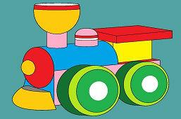 Drevená lokomotíva
