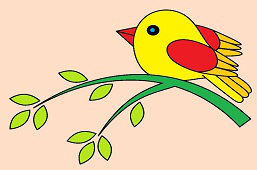 Vtáčik na halúzke