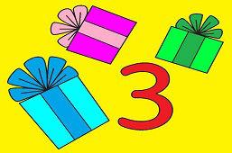 Tri darčeky