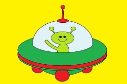 Zelený ufónik