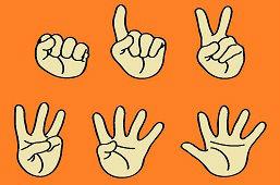 Počítanie na prstoch