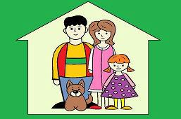 Rodičia, pes a ja