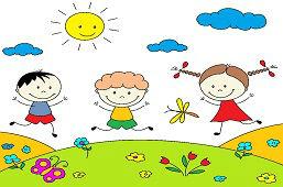 Veselé deti na lúke